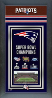New England Patriots Framed 2019 Super Bowl Championship Banner