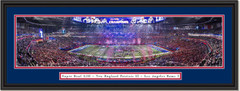 2019 Super Bowl New England Patriots CELEBRATION Framed Print