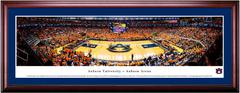 Auburn Tigers Basketball Framed Print - CHERRY FRAME MATTED