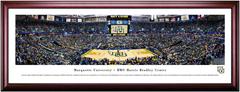 Marquette Golden Eagles Basketball BMO Harris Bradley Center Framed Panoramic