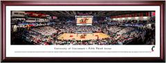 Cincinnati Bearcats Basketball Fifth Third Arena Framed Print