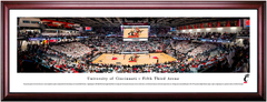Cincinnati Bearcats Basketball Fifth Third Arena Framed Print
