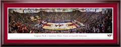 Virginia Tech Hokies Basketball Cassell Coliseum Framed Print