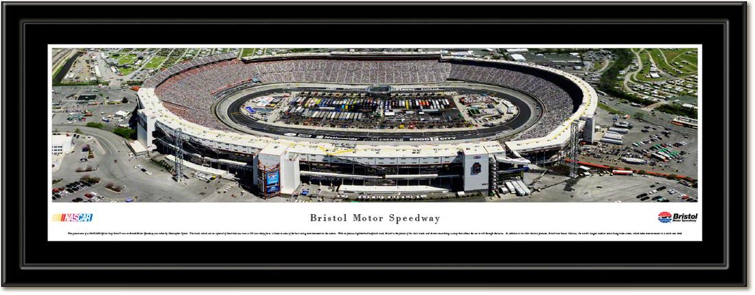 Bristol Motor Speedway Framed Print