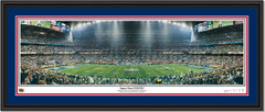 New England Patriots Super Bowl XXXVIII Framed Print
