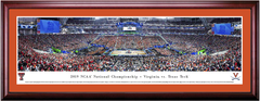 2019 NCAA Final Four Tip-off Basketball Virginia vs. Texas Tech Framed Print