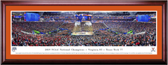 2019 NCAA Final Four Virginia Wins CELEBRATION Framed Print