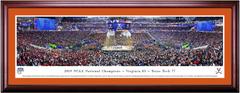 2019 NCAA Final Four Virginia Wins CELEBRATION Framed Print