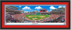 Washington Nationals Opening Day 2018 at Nationals Park Framed Print Double Matting and Black Frame