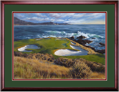Pebble Beach - View on the 7th Hole