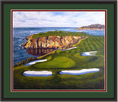 Pebble Beach - The 8th Hole, Courageous Approach