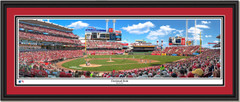 Cincinnati Reds Great American Ball Park Framed Print Double Mat