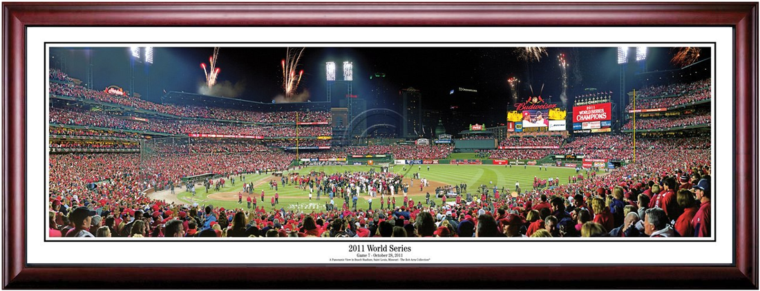 St. Louis Cardinals 2011 World Series Celebration Framed Print