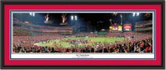 St. Louis Cardinals 2011 World Series Celebration Framed Print DOUBLE MATTING and BLACK FRAME