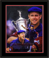Payne Stewart Composite Framed Art