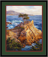 Pebble Beach - On The Bow Framed Art