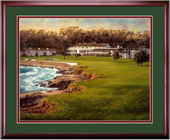 Pebble Beach - Famed Finish
