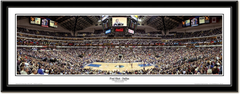 "Dallas Mavericks ""Foul Shot"" Framed Panoramic"