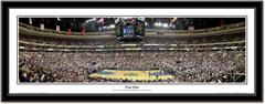 """Philadelphia 76ers """"Foul Shot"""" Framed Panoramic"""