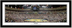 "Philadelphia 76ers ""Foul Shot"" Framed Panoramic"