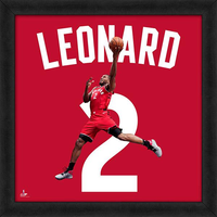 Kawhi Leonard Uniform Framed Photo