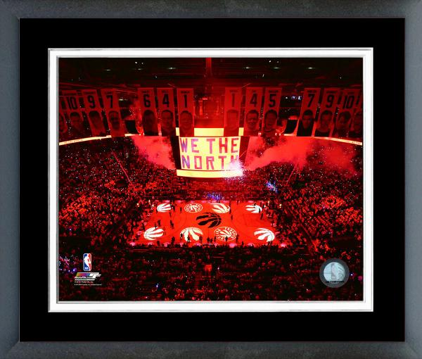Scotiabank Arena WE THE NORTH Framed Print