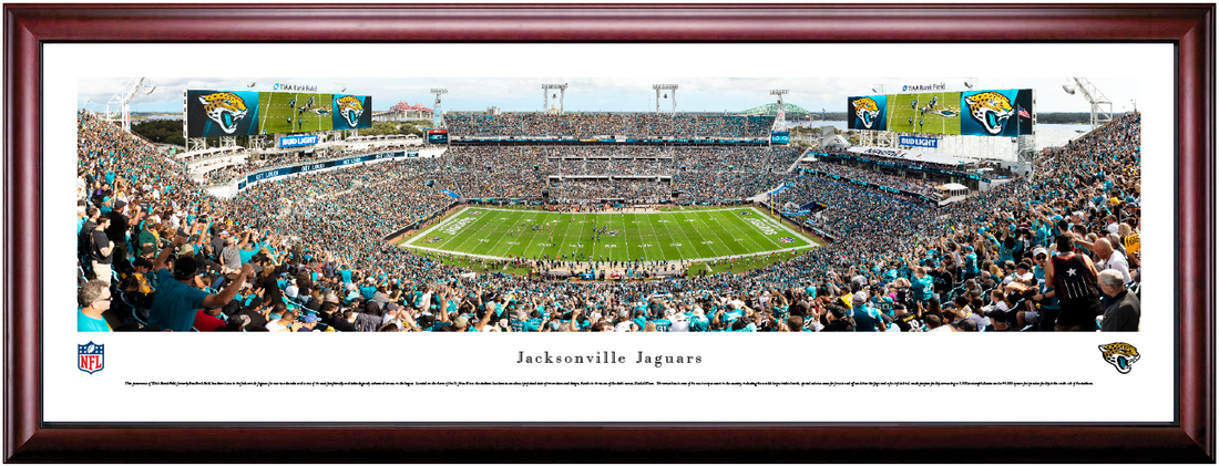 Jacksonville Jaguars TIAA Bank Field Framed Panoramic