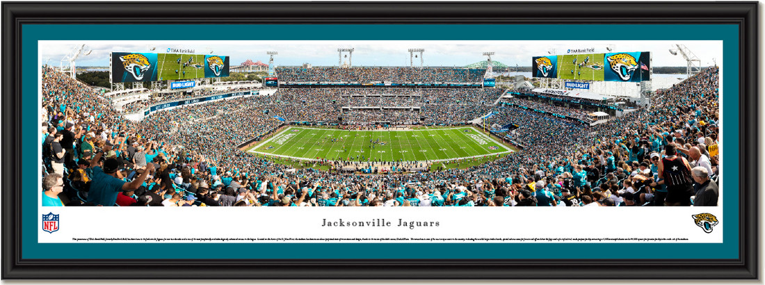 Jacksonville Jaguars Tiaa Bank Field Framed Panoramic