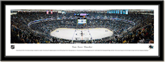 San Jose Sharks SAP Center Framed Panoramic Print