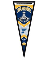 St. Louis Blues Stanley Cup Framed Pennant