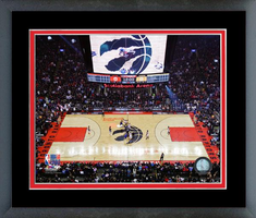 Scotiabank Arena NBA Finals Game 1 Framed Print