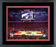 Scotiabank Arena 2019 NBA Finals Game 4 Framed Print