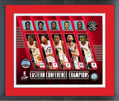 Toronto Raptors NBA Eastern Conference Champs Framed Print
