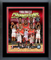 Toronto Raptors 2019 NBA Champs Framed Composite Print