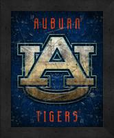 Auburn Retro Logo Map