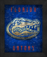 Florida Retro Logo Map