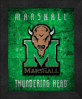 Marshall Retro Logo Map