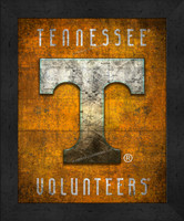Tennessee Retro Logo Map