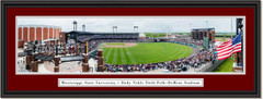 Mississippi State Bulldogs Baseball at Dudy Noble Field Framed Print