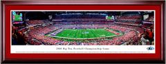 2018 Big Ten Championship KICKOFF - Ohio State vs Northwestern - Framed Panoramic