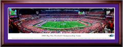 2018 Big Ten Championship KICKOFF - Northwestern vs Ohio State - Framed Panoramic
