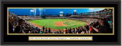 2019 College World Series Vanderbilt CELEBRATION Framed Print