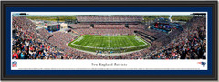 New England Patriots Game Day at Gillette Stadium Framed Print