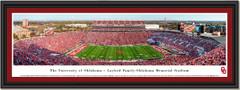 The University of Oklahoma Gaylord Family-Oklahoma Memorial Stadium Framed Print