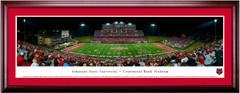 Arkansas State Red Wolves Centennial Bank Stadium Framed Print
