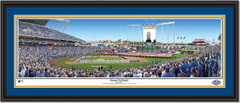 Kansas City Royals Opening Ceremony Framed Print Double Mat and Black Frame