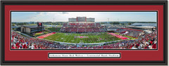 Arkansas State Red Wolves Football Centennial Bank Stadium Framed Print