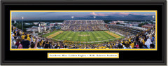 Southern Miss Golden Eagles Football M.M. Roberts Stadium Framed Print