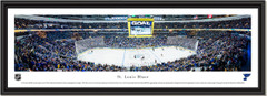 St. Louis Blues Enterprise Center Framed Panoramic Print