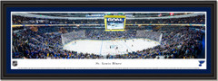 St. Louis Blues Enterprise Center Framed Panoramic Print